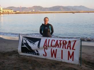 Alcatraz Sharkfest Swim - First Cold Water Swim