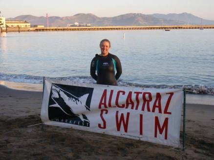 Alcatraz Sharkfest Swim - First Cold Water Swim