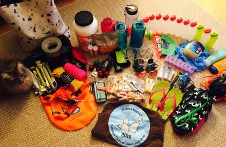 Catalina Channel Swim - Supplies