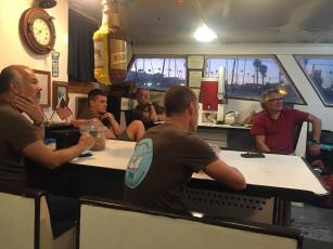 Catalina Channel Swim - Pre-Swim Crew Meet