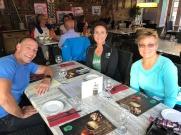 Crew Birthday Dinner - Ben, Mom and Aunt Rhonda