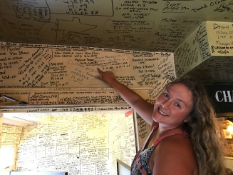 White Horse Wall Signing