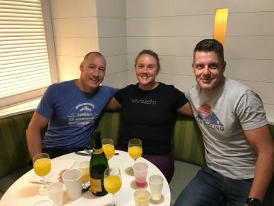 Manhattan Island Marathon Swim - Crew Celebration