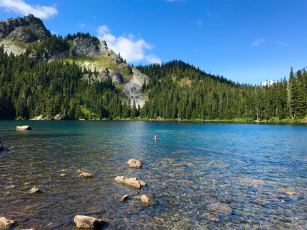 Mirror Lake - Snoqualmie-Mt. Baker National Forest