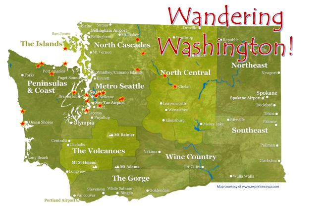 Wandering Washington Cover