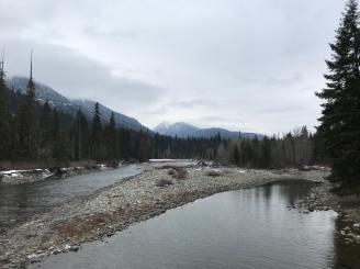 Salmon La Sac - Looking to Polallie Ridge