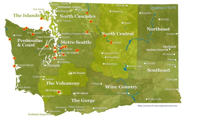 Wandering Washington - Updated 20190514